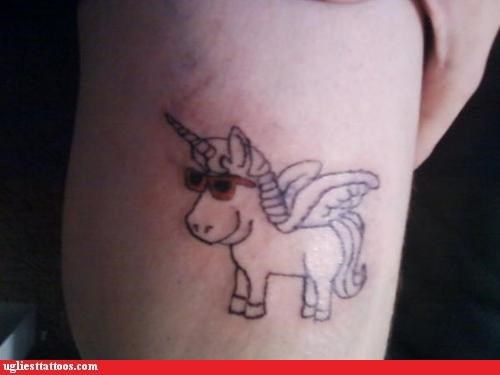 Hipster Unicorn: Sort of Impressed