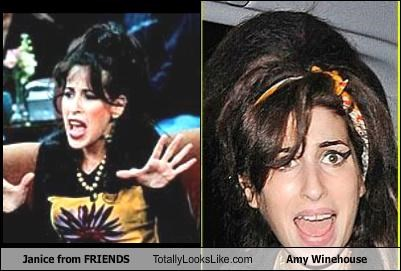 Janice from FRIENDS Totally Looks Like Amy Winehouse