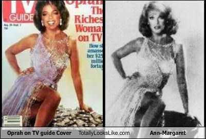 Oprah on TV guide Cover Totally Looks Like Ann-Margaret