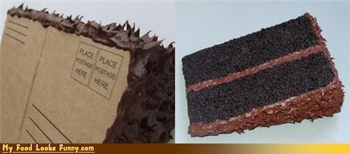 cake,fake,frosting,mail,plastic,postcard,Sweet Treats