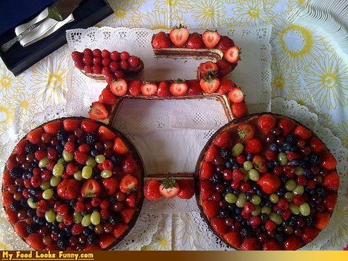 berries,bike,dessert,fruits-veggies,grapes,pastry,raspberries,strawberries,Sweet Treats,tart