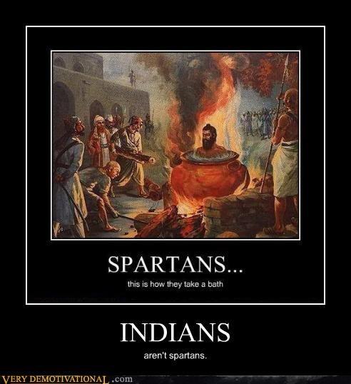 indians,spartans,boiled alive