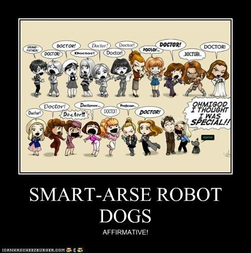 SMART-ARSE ROBOT DOGS