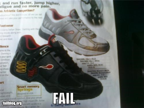 Shoe Logo FAIL