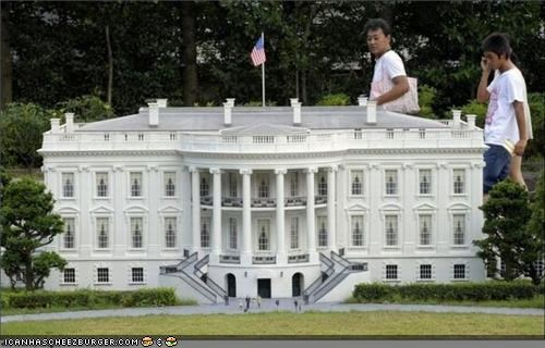 Captionable Photo of the Day: Honey, I Shrunk the White House