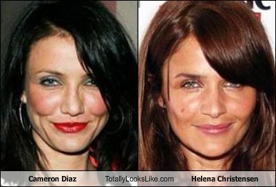 Cameron Diaz Totally Looks Like Helena Christensen