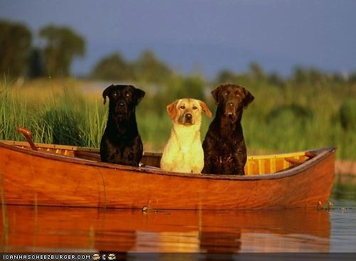 Wut? We'z goin fishin!