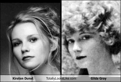 Kirsten Dunst Totally Looks Like Gilda Gray