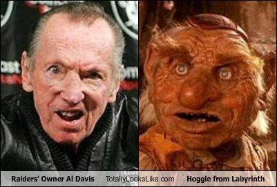 Raiders' Owner Al Davis Totally Looks Like Hoggle from Labyrinth