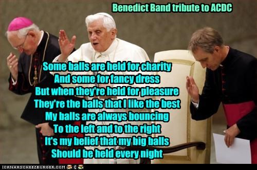 Benedict Band tribute to ACDC