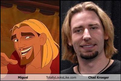 Miguel Totally Looks Like Chad Kroeger