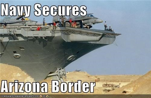 Navy Secures  Arizona Border