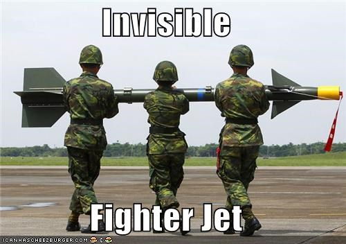 Invisible  Fighter Jet