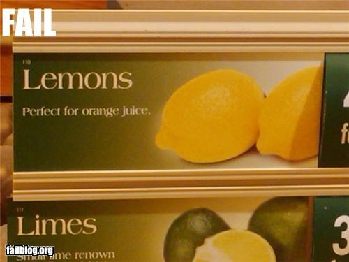 Lemon fail