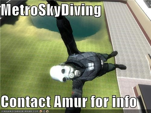 MetroSkyDiving  Contact Amur for info