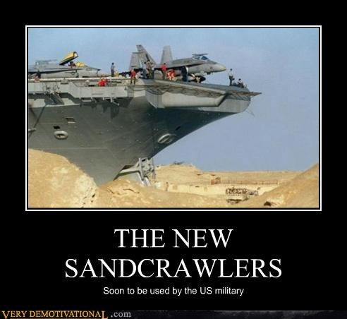 THE NEW SANDCRAWLERS