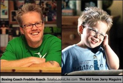 Boxing Coach Freddie Roach Totally Looks Like The Kid from Jerry Maguire