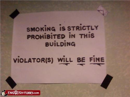 engrish,fine,Hall of Fame,smoking,warning