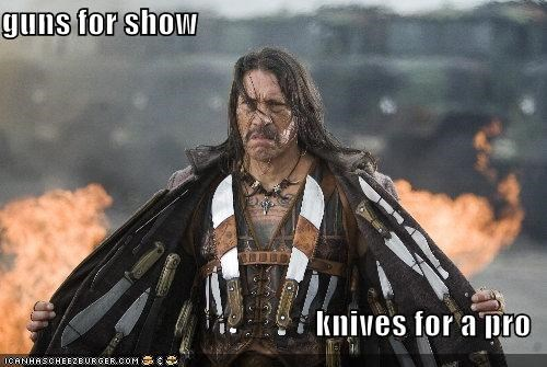 Machete is Obviously a Pro