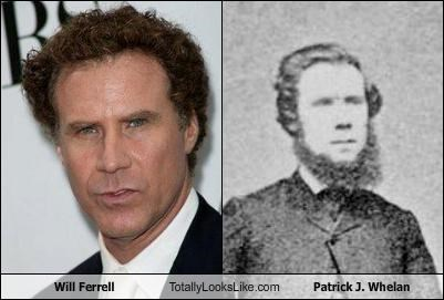 Will Ferrell Totally Looks Like Patrick J. Whelan