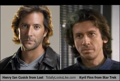 Henry Ian Cusick from Lost Totally Looks Like Kyril Finn from Star Trek