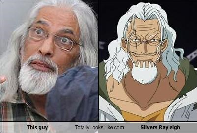 This guy Totally Looks Like Silvers Rayleigh