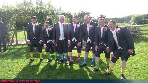 The Return of the Groomsmen Sock Trend