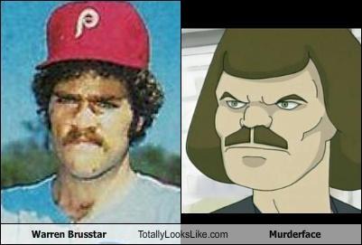 Warren Brusstar Totally Looks Like Murderface