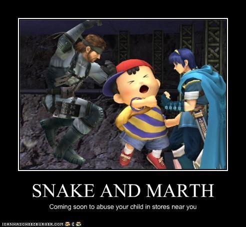 SNAKE AND MARTH