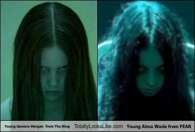 Young Samara Morgan  from The Ring Totally Looks Like Young Alma Wade from FEAR