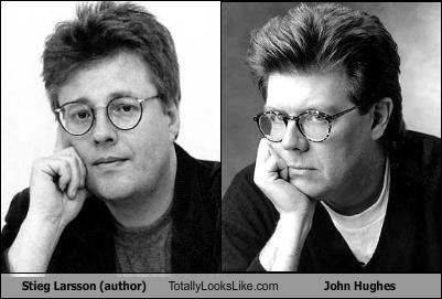 Stieg Larsson (author) Totally Looks Like John Hughes