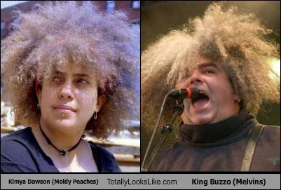 Kimya Dawson (Moldy Peaches) Totally Looks Like King Buzzo (Melvins)