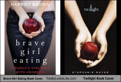 book cover,brave girl eating,twilight
