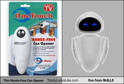 This Hands-Free Can Opener Totally Looks Like Eve from WALLE