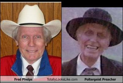 Fred Phelps Totally Looks Like Poltergeist Preacher