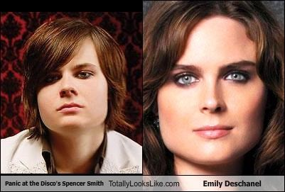 Panic at the Disco's Spencer Smith Totally Looks Like Emily Deschanel