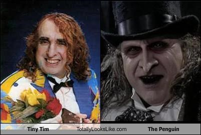 Tiny Tim Totally Looks Like The Penguin