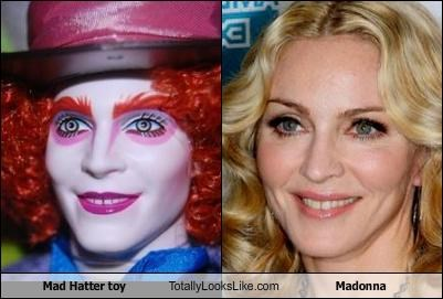 Mad Hatter toy Totally Looks Like Madonna