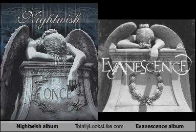 Nightwish album Totally Looks Like Evanescence album