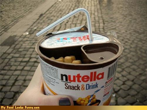 chocolate,combo,cup,drink,nutella,snack,snack and drink,straw,Sweet Treats