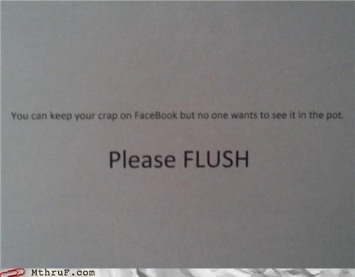 Seriously Flush