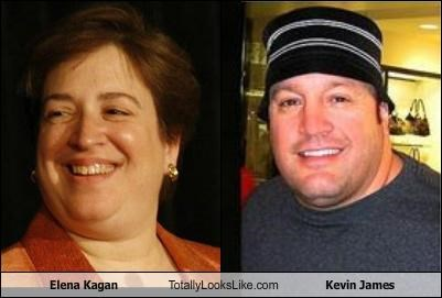 Elena Kagan Totally Looks Like Kevin James