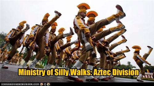 Ministry of Silly Walks: Aztec Division