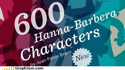 Infographic: 600 Hanna-Barbera Characters