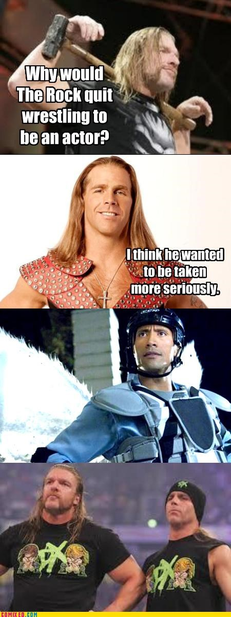 "It's ""Dwayne Johnson"" now."