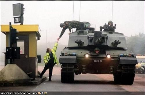 Captionable Photo of the Day: Tank Toll