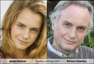 Emma Watson Totally Looks Like Richard Dawkins