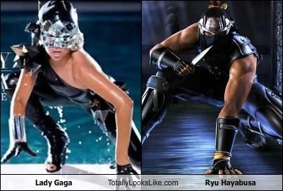 Lady Gaga Totally Looks Like Ryu Hayabusa