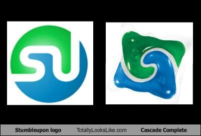 Stumbleupon logo Totally Looks Like Cascade Complete