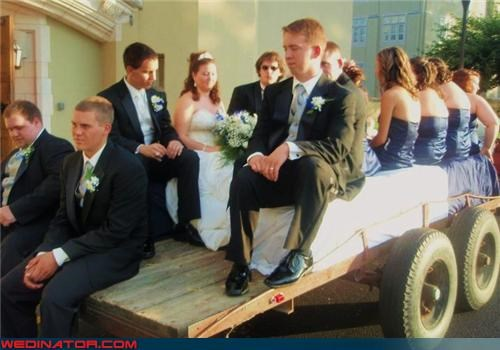 bored wedding party,bride,fashion is my passion,funny wedding photos,groom,hayride,wedding hayride,wedding party,wedding party hayride,yee haw